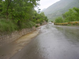 On way to Neelum Point
